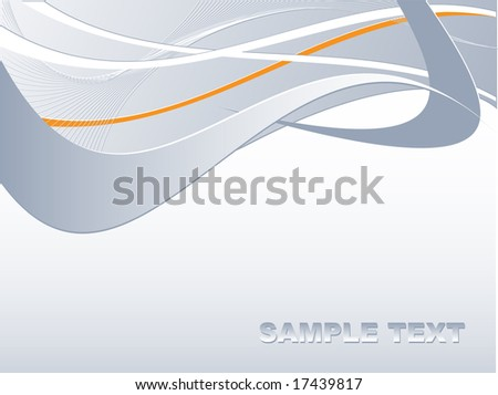 abstract vector template with copy space for your text