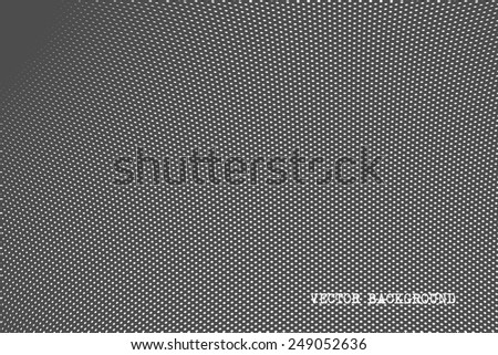 abstract vector tiny dots silver texture - stock vector