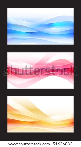 Abstract Vector Wave - EPS10 - stock vector