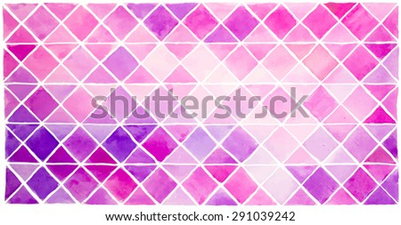 abstract violet geometry background - stock vector