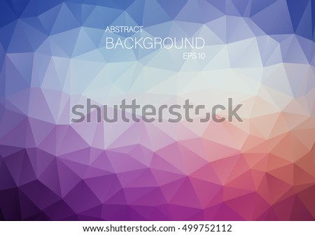 Abstract violet triangle shapes backgound