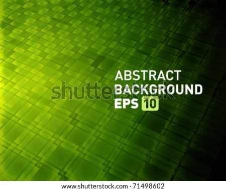 Abstract virtual tecnology vector background. Eps 10. - stock vector