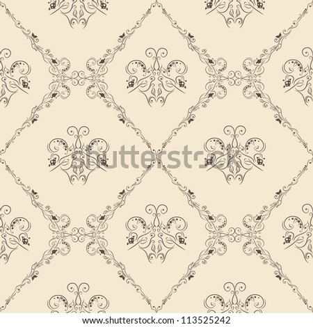 Abstract wallpaper with pattern - stock vector
