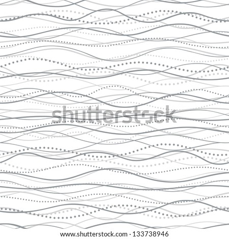 Abstract Wave seamless - stock vector