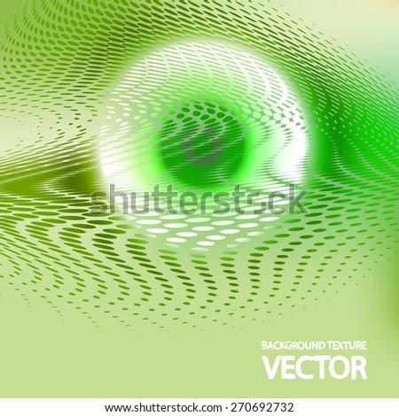 Abstract wavy background eps10, vector elegant wave - stock vector