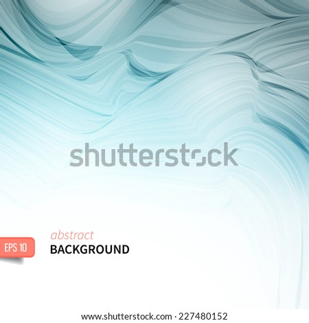 abstract wavy background. File grouped and layered.  - stock vector