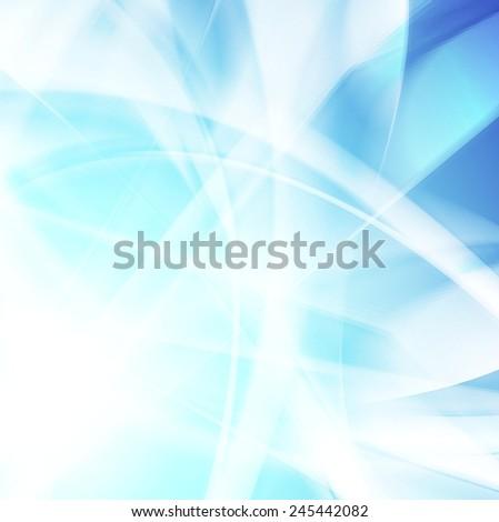 Abstract wavy bright background. Vector design - stock vector