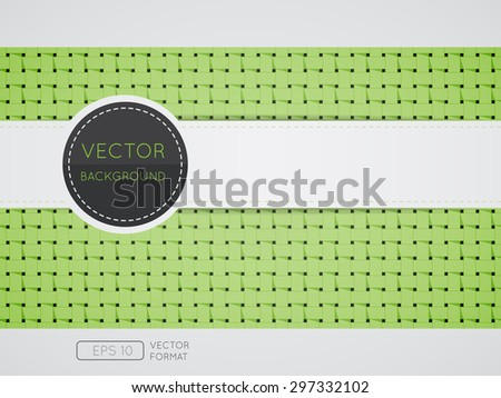 Abstract weave pattern background