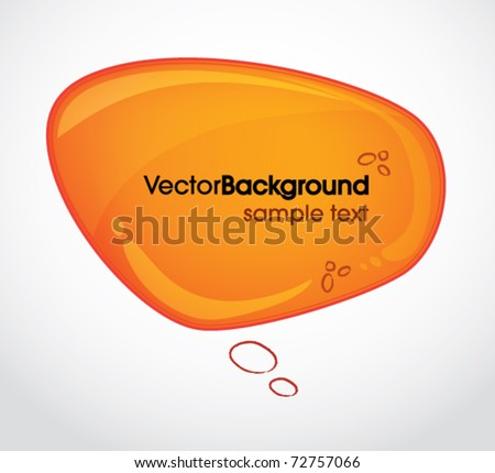 Abstract web application buttons vector set - stock vector