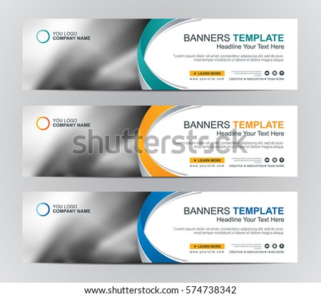 abstract web banner design background header stock vector 574738342