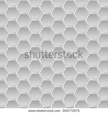 Abstract white and gray geometric seamless pattern. Geometric background. Wallpaper - vector