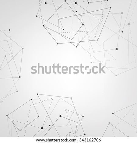 Abstract white bright minimalistic vector background. - stock vector