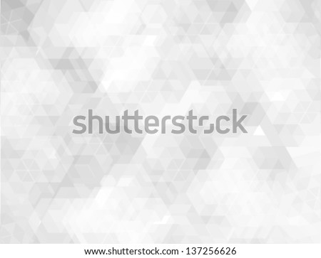 abstract white geometric background - stock vector