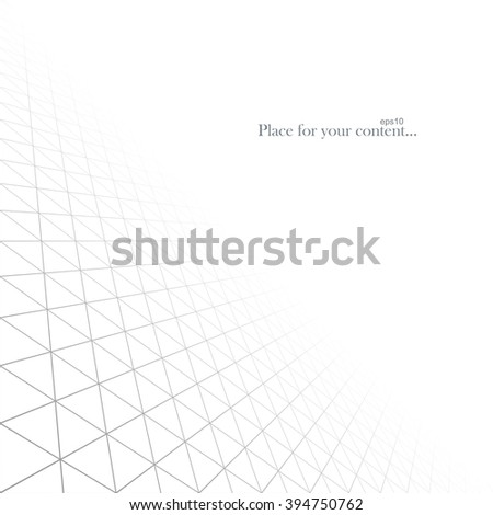 Abstract white infinite background. Vector illustration eps10. - stock vector