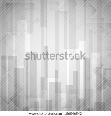 Abstract White Rectangle Shapes Background. Vector Illustration. Eps 10. - stock vector
