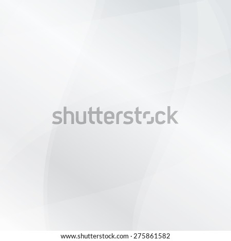 Abstract white vector lines background - stock vector