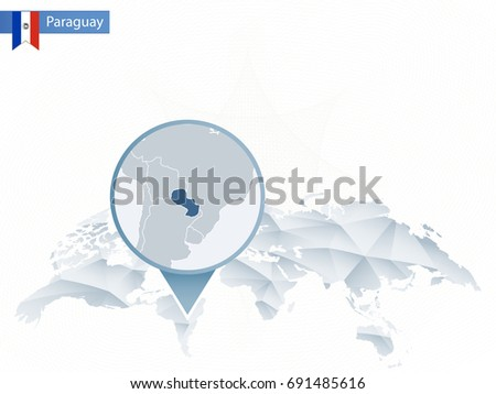 Paraguay Stock Images RoyaltyFree Images Vectors Shutterstock - Map of paraguay world