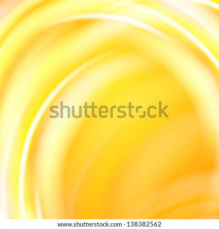 Abstract yellow background. Vector illustration, contains transparencies, gradients and effects. - stock vector