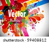Abstraction  background - stock vector