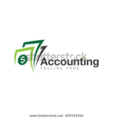 Accounting Logo Design Stock Vector 604541036 - Shutterstock