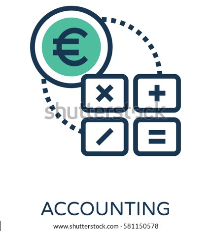 Accounting Vector Icon Stock Vector 581150578 - Shutterstock