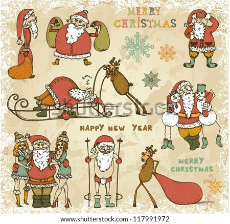 Drunk Santa Stock Images, Royalty-Free Images & Vectors | Shutterstock
