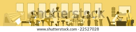 Advertising Agency-vector - stock vector