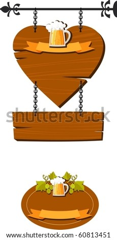 advertising sign - stock vector
