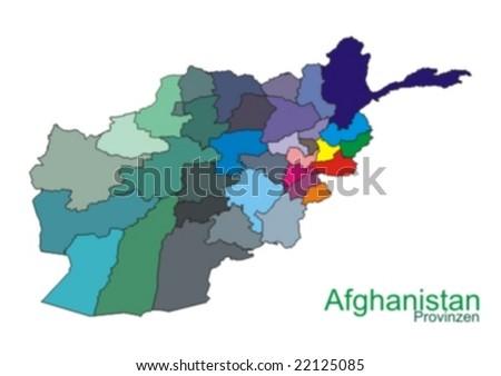 Afghanistan Stock-vektorgrafik 22125085 - Shutterstock