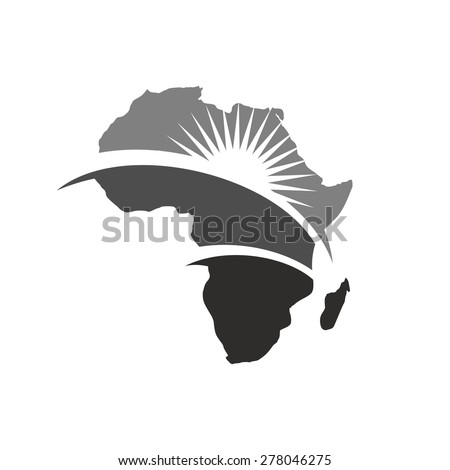 africa map for logo