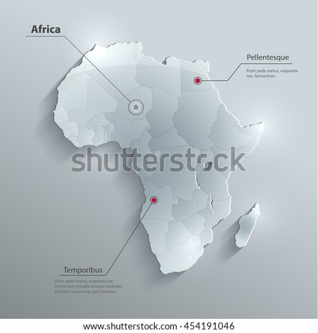 Africa Continent 3d Stock Images RoyaltyFree Images Vectors