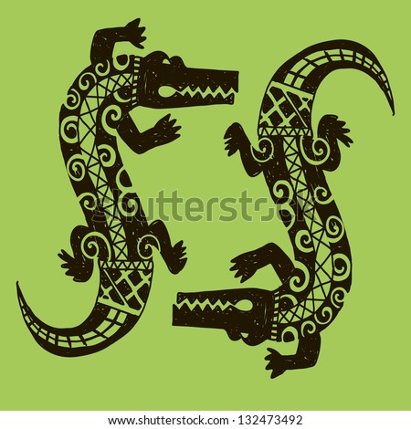 African Symbols Stock Images Royalty Free Images
