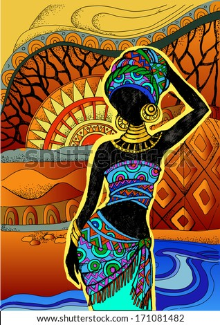 Traditional African Art Paintings