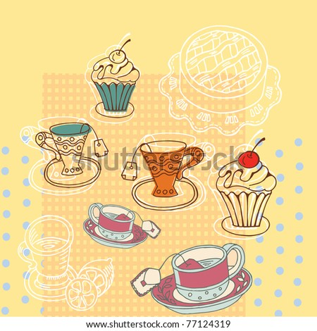 afternoon tea background