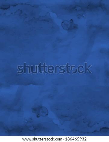 Aged indigo background. Vector eps10. - stock vector