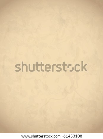 Aged  Vector Paper Texture - stock vector