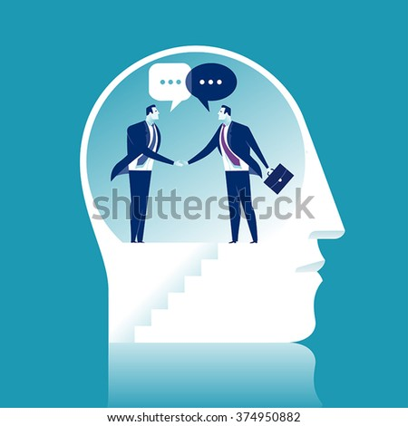 Agreement. Business concept illustration. - stock vector