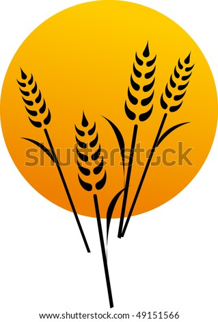 agriculture symbol - stock vector