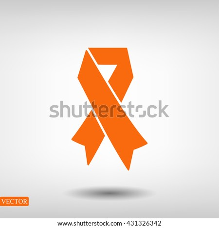 AIDS icon - stock vector