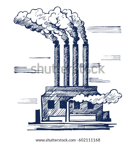 Air ecology problem air pollution harmful stock vector 602111168 shutterstock