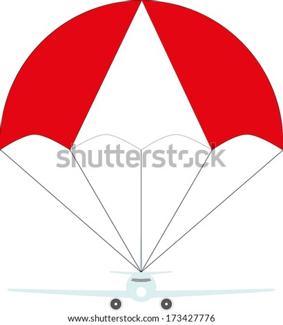 aircraft protection - stock vector