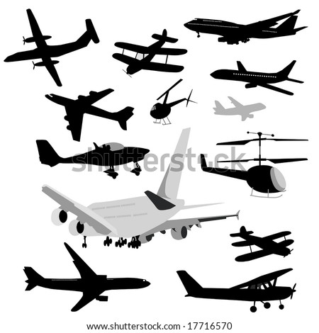 Airplane Collection is original artwork.