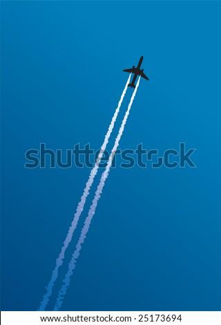 Airway 1 - stock vector