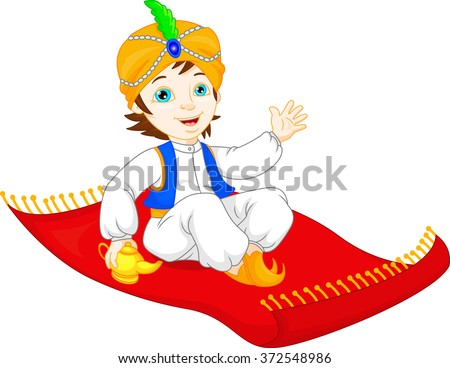 Magic carpet stock images royalty free images vectors for Aladdin carpet vector