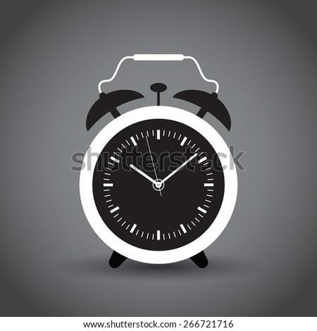 alarm clock - stock vector