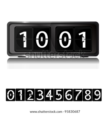 Alarm Clock vector - stock vector