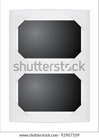 album background - stock vector