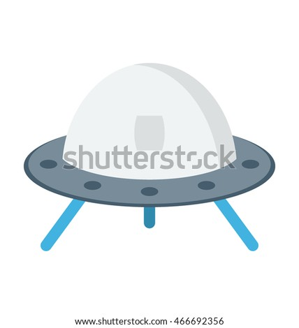 Alien Ship Vector Icon