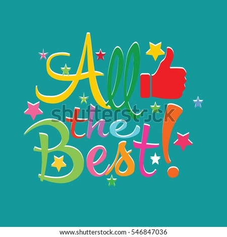 All the best wish stock images royalty free images for All the very best images