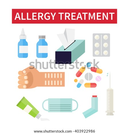 treat allergic